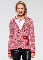 Jachetă tricotată etno bonprix (bonprix)