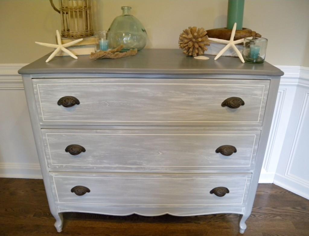 driftwood look dresser