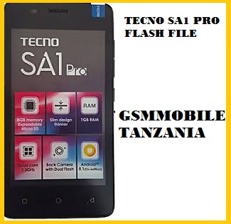 TECNO SA1 PRO FACTORY SIGNED FIRMWARE 100% TESTED BY