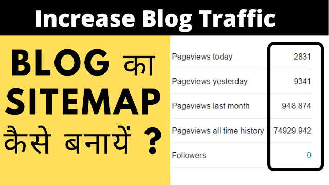 How to Generate Sitemap for Blogger?