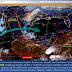 Lluvias fuertes se pronostican para Chiapas, Oaxaca, QuintanaRoo y Yucatán