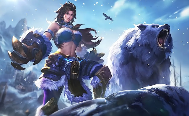Masha Winter Guard Mobile Legends