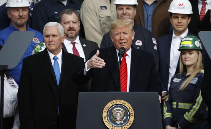 Con el nuevo pacto comercial, el Producto Interno Bruto (PIB) de EU verá un aumento de 1.2% y se añadirán numerosos puestos de trabajo, dijo Trump. (Foto: Cortesía)