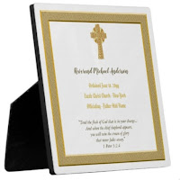 New ordained priest plaque