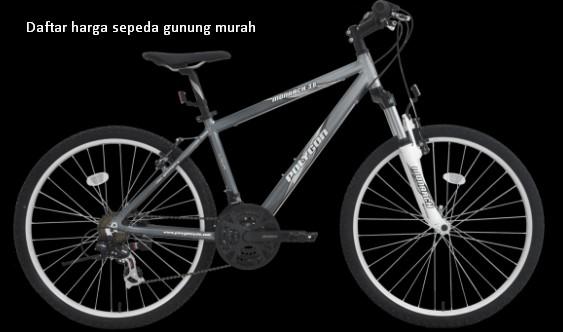 Daftar harga sepeda gunung murah terbaru all merk united ...