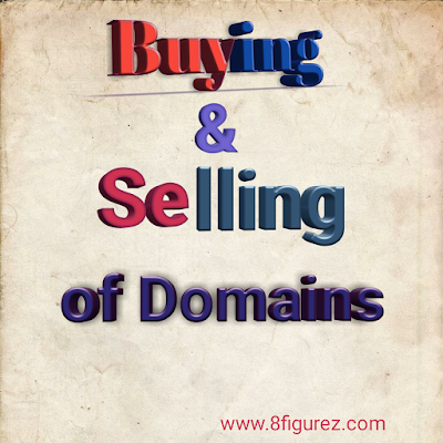 Make money selling domains