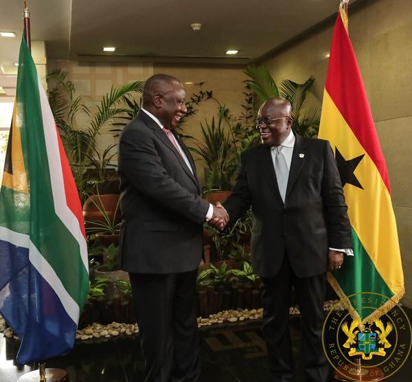 Ghana, South Africa Establish Bi-National Commission For Co-Operation