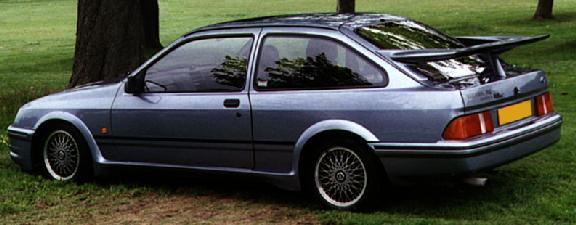 Форд Сиерра трех дверка Cosworth