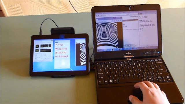 كيف تقوم بتحويل جهازك الأندرويد إلى شاشة ثانية للحاسوب