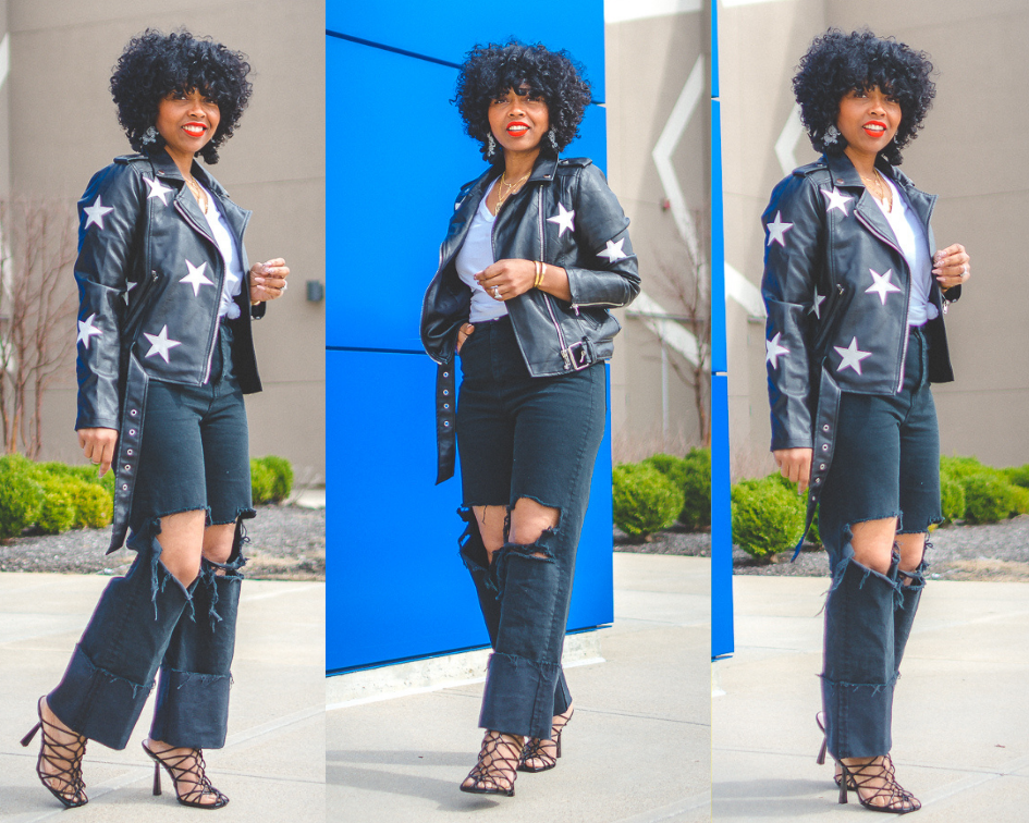 SWEENEE STYLE, SPRING OUTFIT IDEA, HOW TO DRESS FOR SPRING, INDIANAPOLIS STYLE BLOG, FASHION BLOG, NATURAL HAIR BLOG