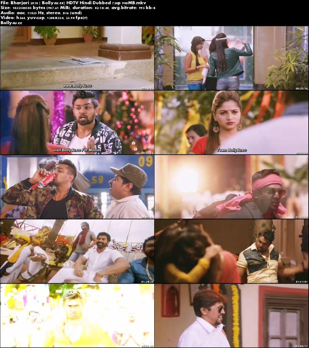 Bharjari 2018 HDTV 400MB Hindi Dubbed 480p Download