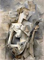 Cubismo Analítico - 'Chica con mandolina' de Picasso