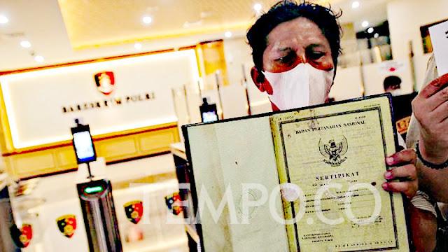 Korban Mafia Tanah Dipersilahkan Melapor ke Mabes Polri.lelemuku.com.jpg
