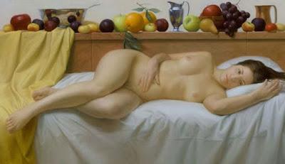 Desnudos de Mujeres Voluptuosas Pintura Oleo