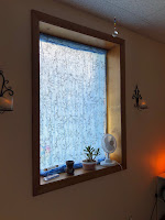 Window of Massage Room at A Caring Touch: Massage Therapy - After