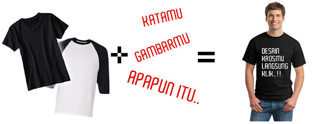 Gawe Custom T-shirt Online Murah