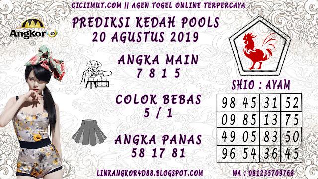 PREDIKSI KEDAH POOLS 20 AGUSTUS 2019