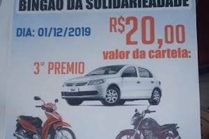 """Veículo usado no sorteio de """"Show de Prêmios da solidariedade"""" era locado"""