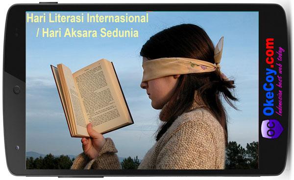 Hari Literasi Aksara Sedunia Internasional & Nasional Indonesia
