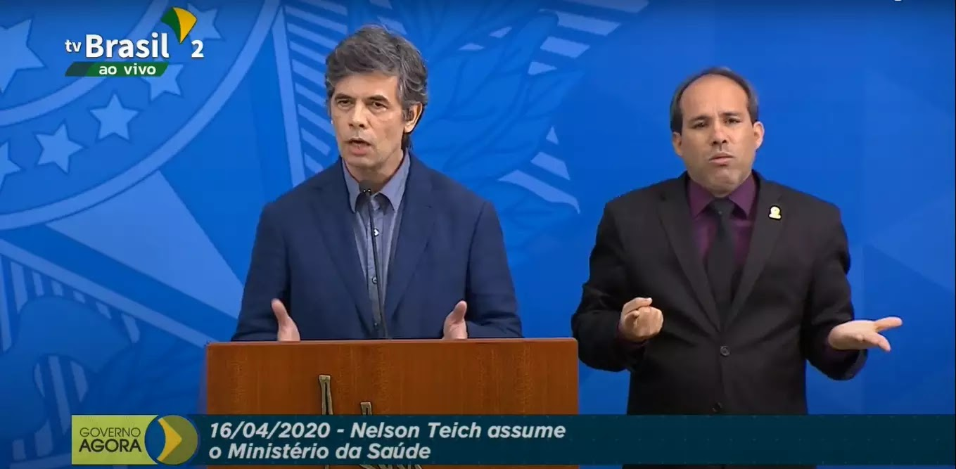 Novo ministro da Saúde, Nelson Teich