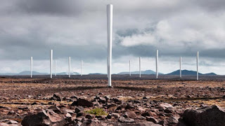 energía eólica aerogenerador sin aspas