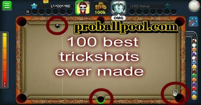 loord ayman 100 best trickshots 8 ball pool by Miniclip