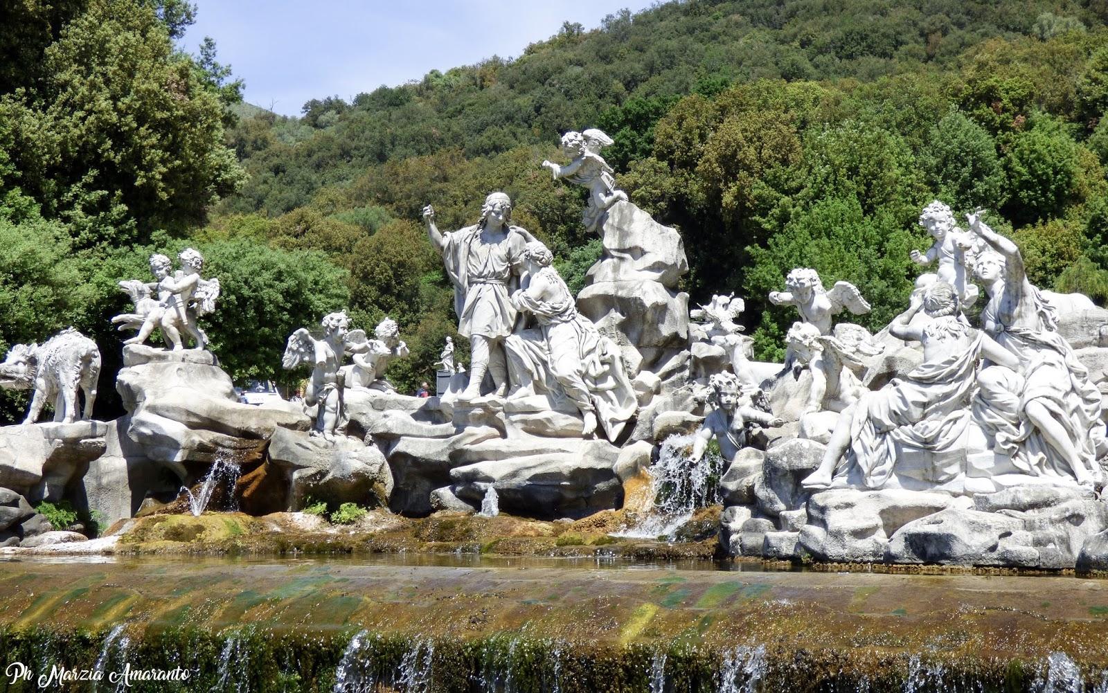 FONTANA DI VENERE E ADONE - reggia di Caserta