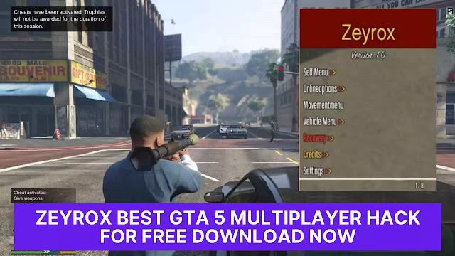 gta v free mod menu