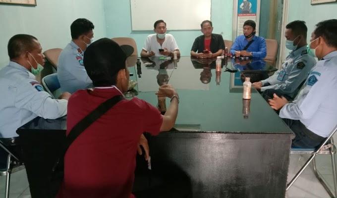 Jalin Sinergitas, Kalapas Kelas IIA Serang Sambangi Markas Wartawan