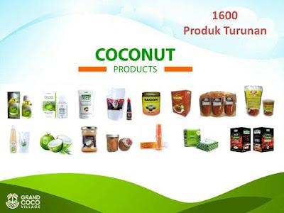 Kavling kebun kelapa di Kalimantan - Investasi Kavling Produktif Grand Coco Village