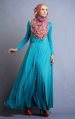 Contoh Baju Muslim Gamis Untuk Santai Dengan Desain Terbaru