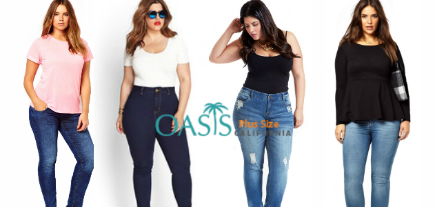 3f312541af0 Oasis Plus Size  4 Ways to Pep up Your Look with Plus Size Skinny Jeans