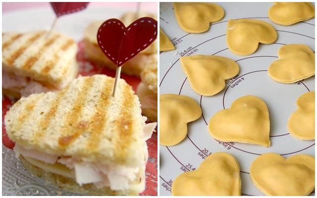 Resultado de imagem para comidas em formato de coração