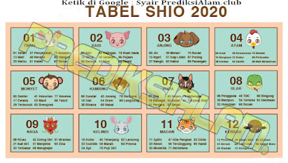 Table Shio