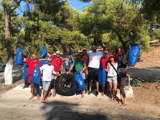 The Yacht Week: Καθάρισαν εθελοντικά της παραλίες της Ερμιόνης