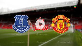 مشاهدة مباراة مانشستر يونايتد وإيفرتون بث مباشر بتاريخ 02-10-2021 الدوري الانجليزي