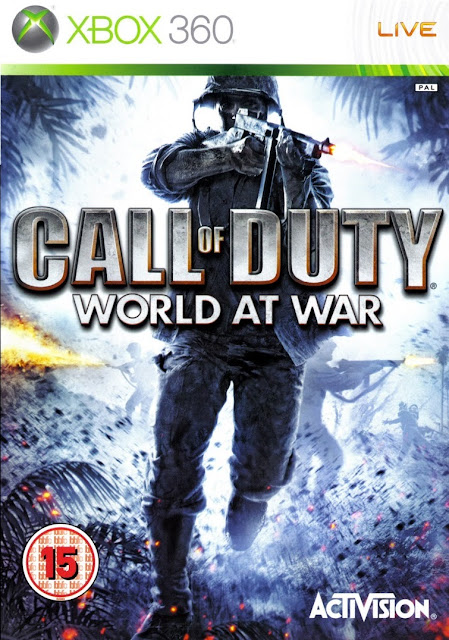 Call of Duty: World at War - Xbox 360 - Portada