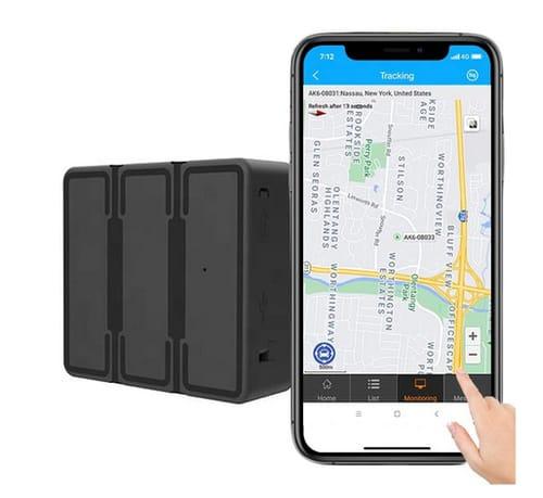Reiwour 4G Magnetic GPS Tracker for Vehicles
