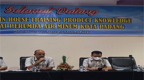 Menuju Perusahaan Handal Dalam Sistem dan Responsif, Perumda Air Minum Kota Padang Bekali Calon Pegawai Baru