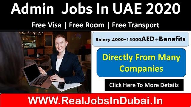 Admin Jobs In Dubai - UAE