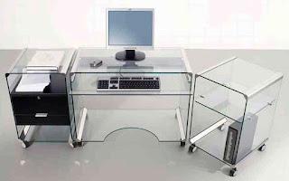 компьютерный стол из стекла в москве