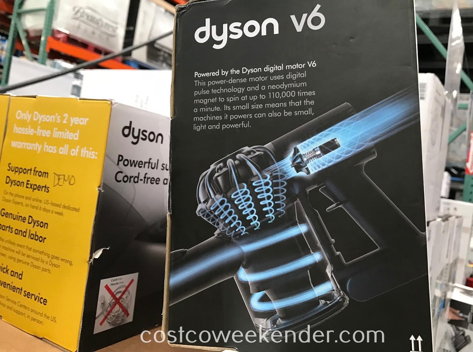 dyson v6 car boat handheld vacuum costco weekender. Black Bedroom Furniture Sets. Home Design Ideas