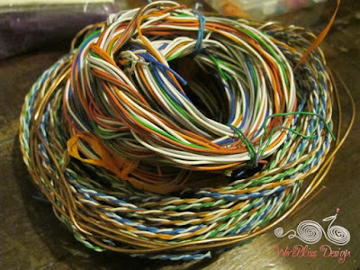 Copper steel wire collection
