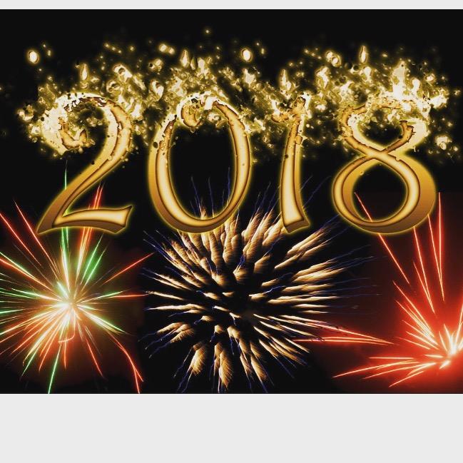 Frohes neues Jahr 2018!