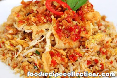 Recipe for Fried Rice with Chicken