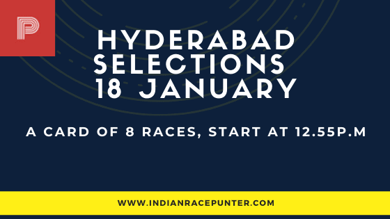 Hyderabad Race Selections 18 January