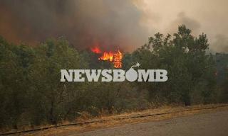 Φωτιά: Ηλικιωμένος δεν εγκαταλείπει το σπίτι του