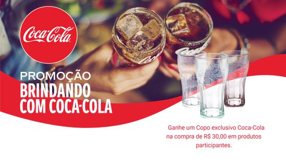Promoção Brindando com Coca-Cola