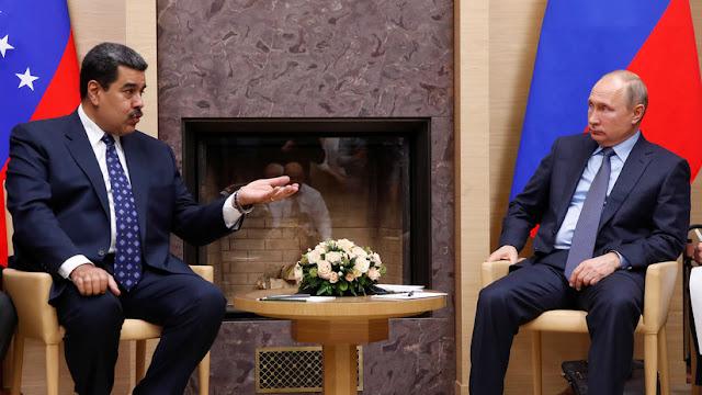 """Putin: """"Rusia condena cualquier intento de cambiar la situación en Venezuela por la fuerza"""""""