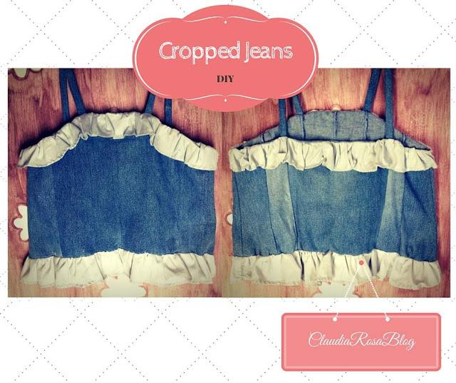 DIY - Cropped Jeans com Babados (Faça você mesma)